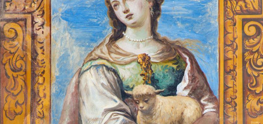 Santa Inés: la historia de la niña mártir