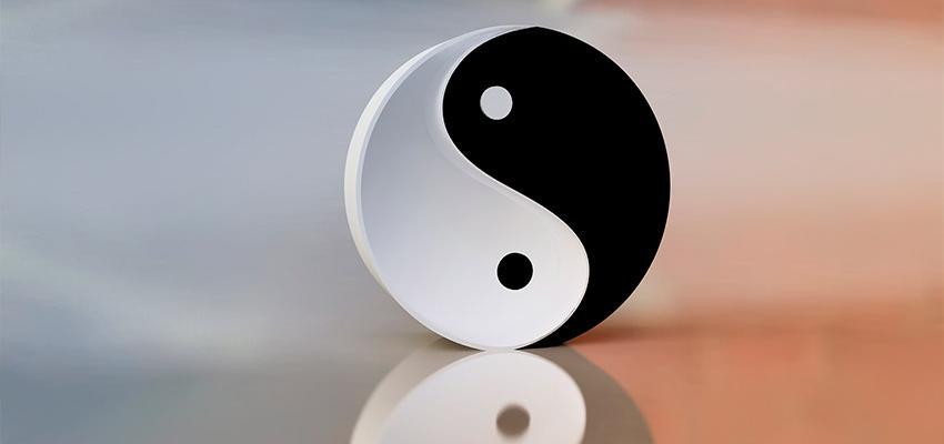 Energías opuestas que se complementan en el Yin Yang