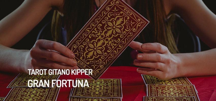 Gran fortuna del Tarot Gitano Kipper