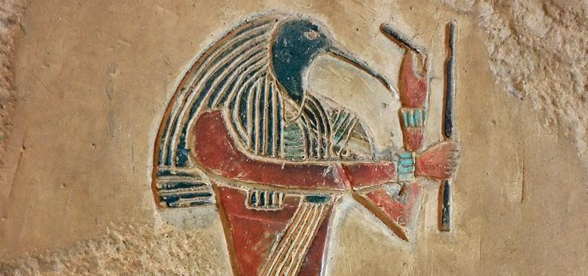 Thot, el Dios de la sabiduría y el inventor de la escritura