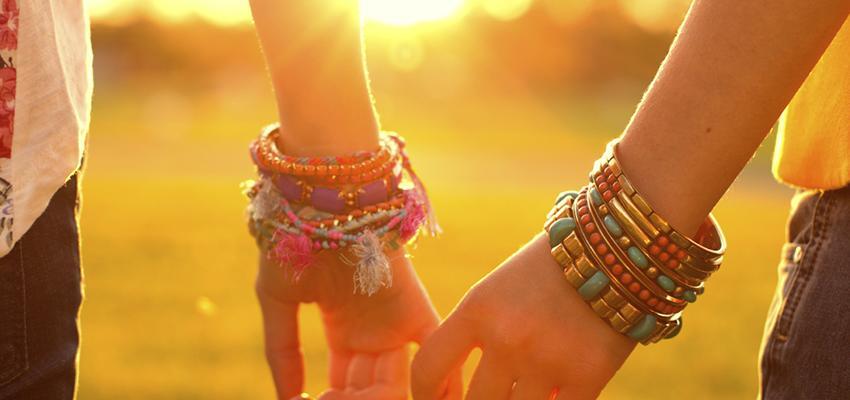 Tres rituales de amistad