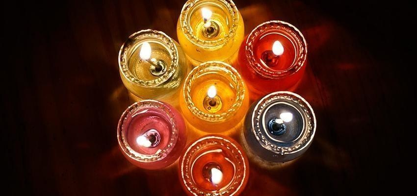 Encender una vela para el Ángel de la Guarda