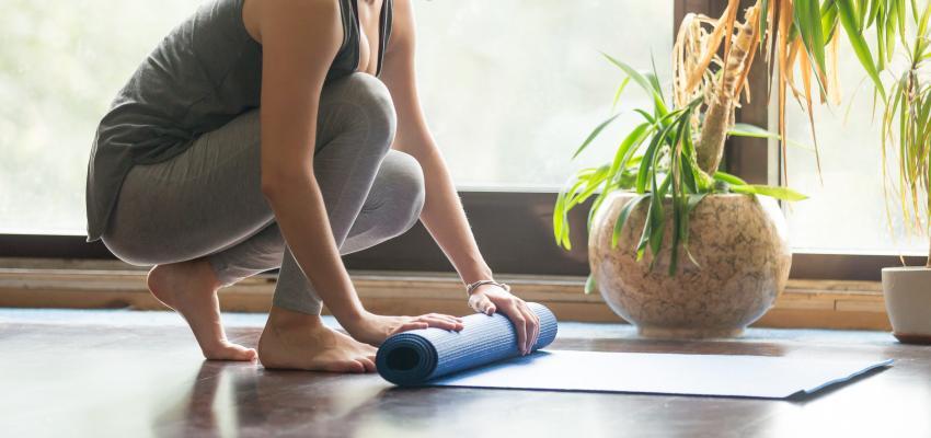 Mat de yoga ¿cómo elegir el adecuado para ti?