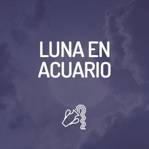 Signo Lunar - Luna en Acuario