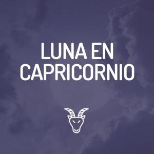 Signo Lunar - Luna en Capricornio