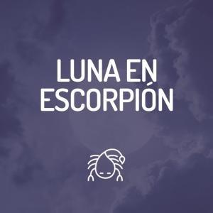Signo Lunar - Luna en Escorpión