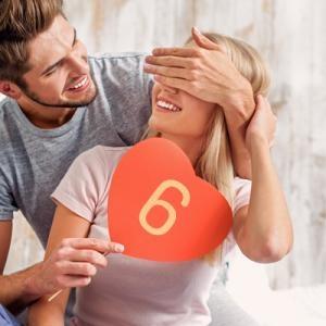 Numerología del Amor: Número 6