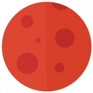 Planeta Regente de Aries - Marte