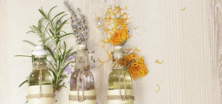 Utilización de la aromaterapia con ruda y romero