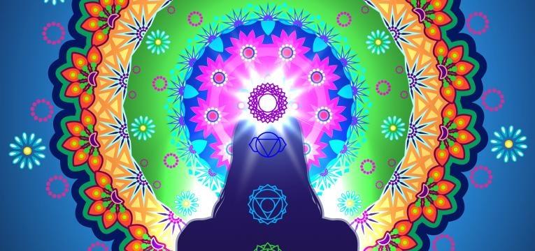 Símbolo Antahkarana para el chakra raíz