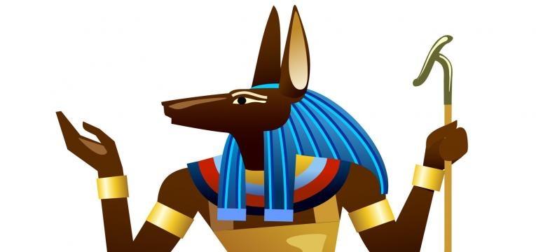 Cómo está representado Anubis
