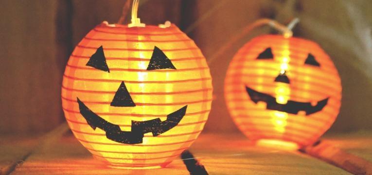 Decoración para el Halloween: las inflatables calabazas