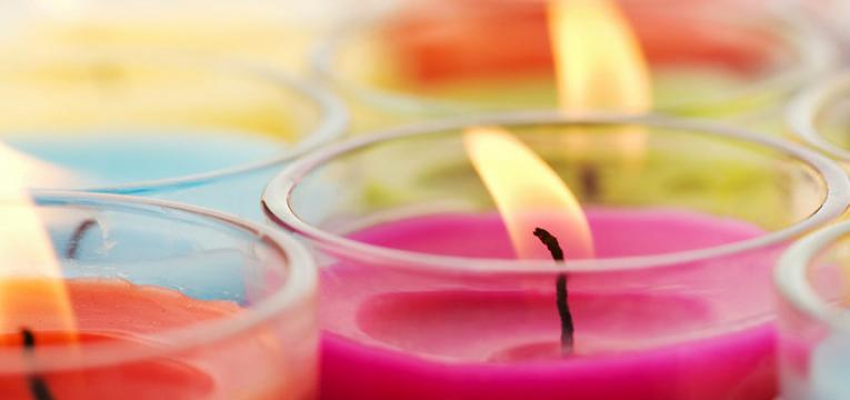 El color de las velas para el trabajo