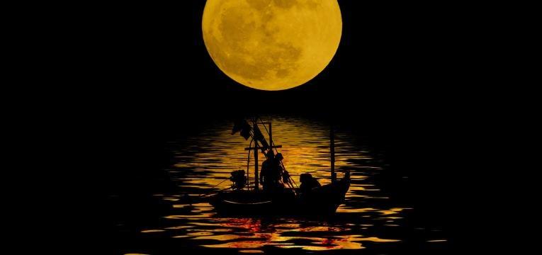 La energía de la Luna en cada una de sus fases