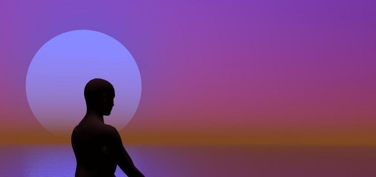 meditación con llama violeta