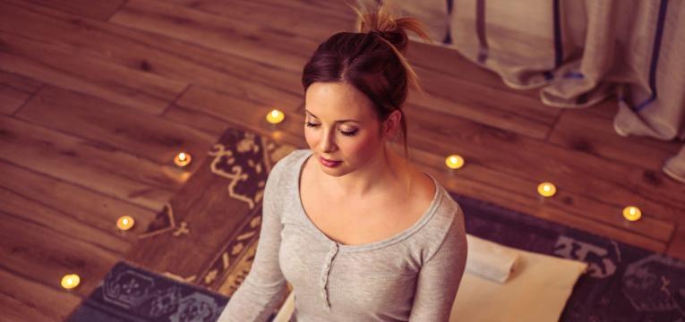 Claves para meditar en casa y tener un espacio agradable