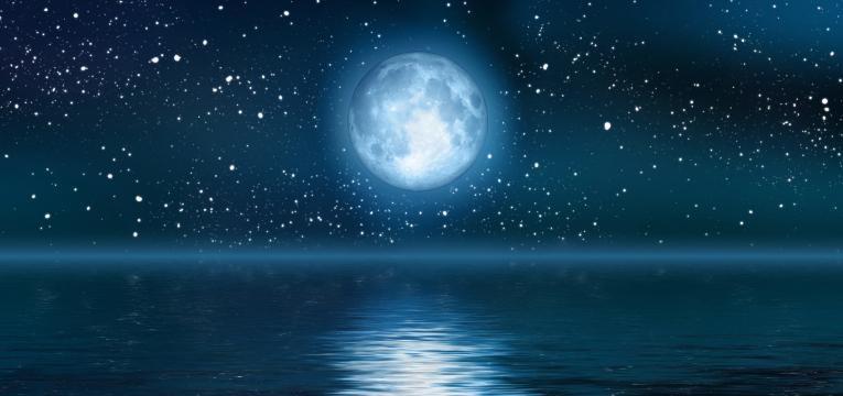 luna en la casa 1