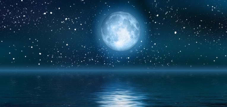 luna en las casas astrales