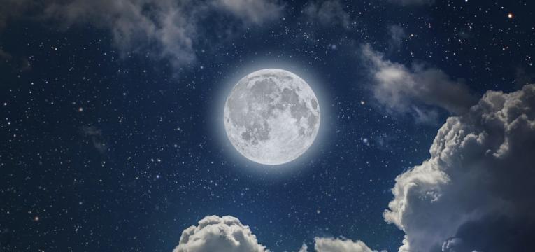 Fase de luna llena en 2018