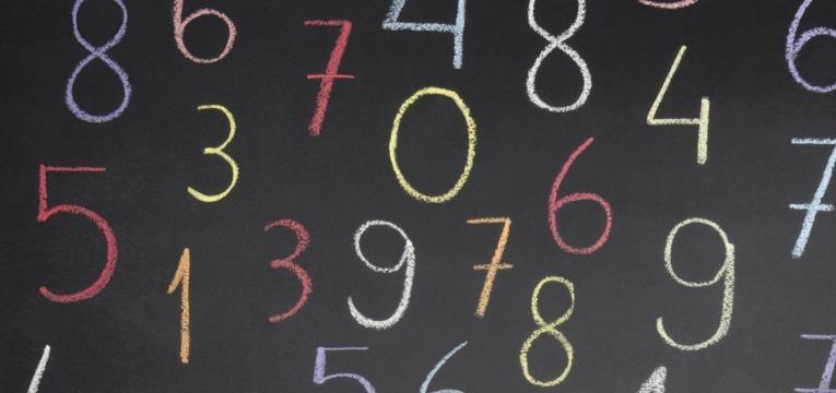 Numerología del coche: cada número tiene un significado único