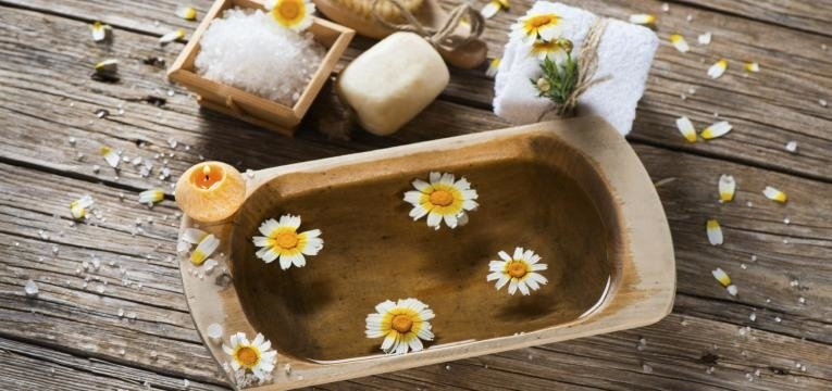 sales de baño relajantes