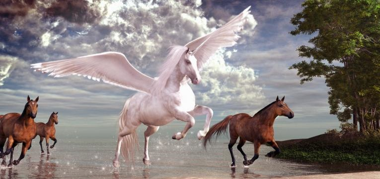 totém de animales místicos