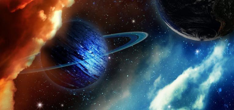 Combinación de iconos en los glifos planetarios