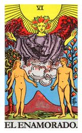 Las cartas del tarot: El enamorado