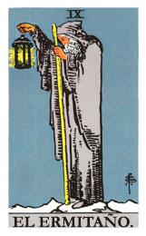 Las cartas del tarot: El ermitaño