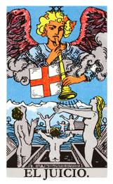 Las cartas del tarot: El juicio