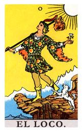 Las cartas del tarot: El loco