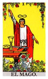 Las cartas del tarot: El Mago