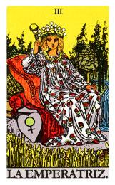 tarot de la armonía: La emperatriz