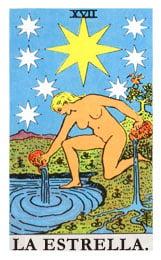 Las cartas del tarot: La estrella