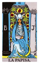 Las cartas del tarot: La sacerdotisa