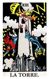 Arcanos Mayores en el amor: La Torre