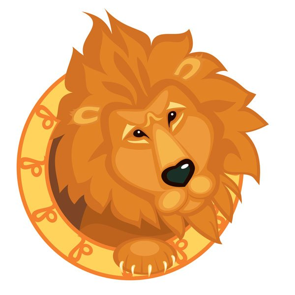 Descendente en Leo