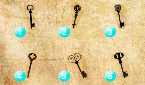 test de la personalidad con llaves