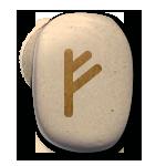 runes celtiques fehu