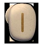 runes celtiques isa