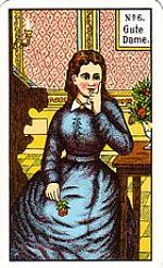 Cartas del tarot gitano: La buena mujer