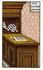 Cartas del tarot gitano: Ganar mucho dinero