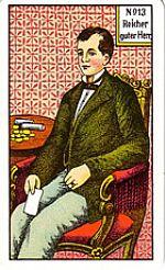 Cartas del tarot gitano: El hombre bueno y rico