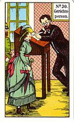 Cartas del tarot gitano: El juez
