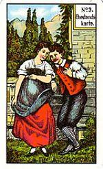 Cartas del tarot gitano: El matrimonio