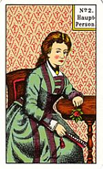 Cartas del tarot gitano: La persona principal femenina