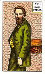 Cartas del tarot gitano: La persona principal masculina
