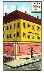 Cartas del tarot gitano: La prisión