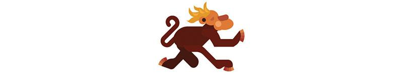 Zodíaco Azteca - Mono